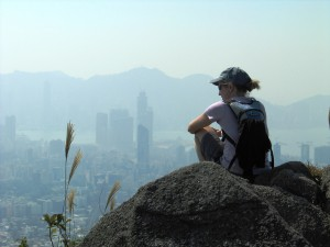 Atop Lion Rock HK