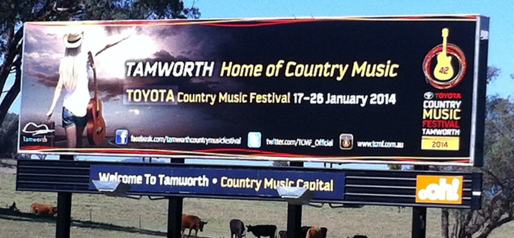 Tamworth Billboard Smaller